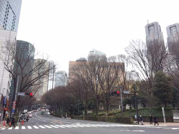 西新宿5丁目薬局の近隣風景