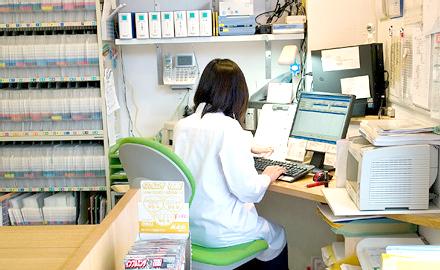 うさぎ薬局 和田店の局内の様子