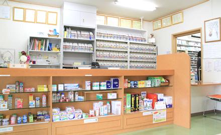 うさぎ薬局 大仁店のうさぎ薬局の中で最も広い店舗