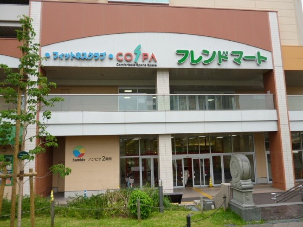 ほんべ薬局平和堂店の商業施設入口