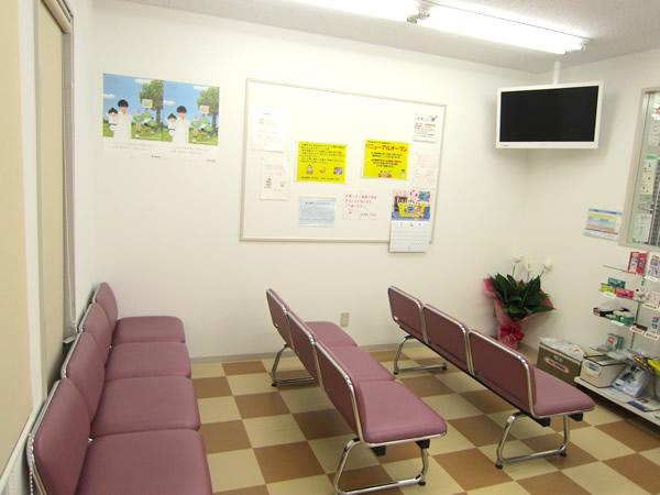 ABC薬局 芥川店の待合室