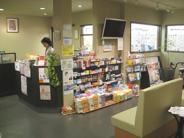 ABC薬局 山崎店の店内の様子