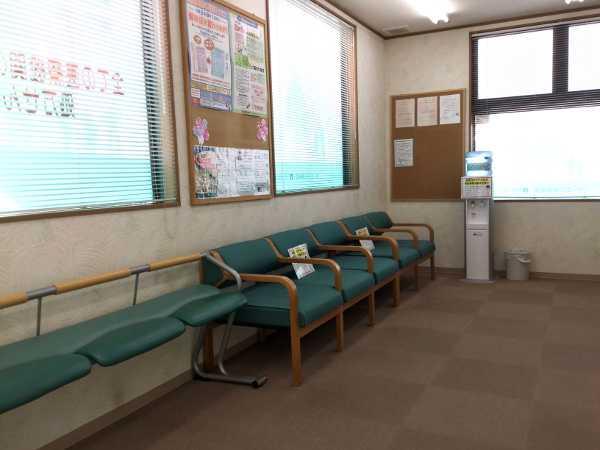 オーエス桜通薬局の待合室
