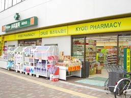 共栄薬局南茨木店の外観
